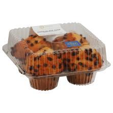 Jumbo Chocolate Chip Muffins 4ct