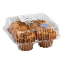 Jumbo Praline Pecan Muffins 4ct