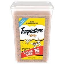 Temptations Treats for Cats, Tasty Chicken Flavor, Value Size