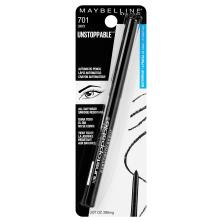 Maybelline Unstoppable Eyeliner, Smudge-Proof, Waterproof, Onyx 701