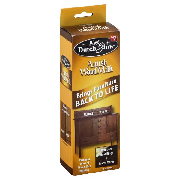 Dutch Glow Wood Milk, Amish