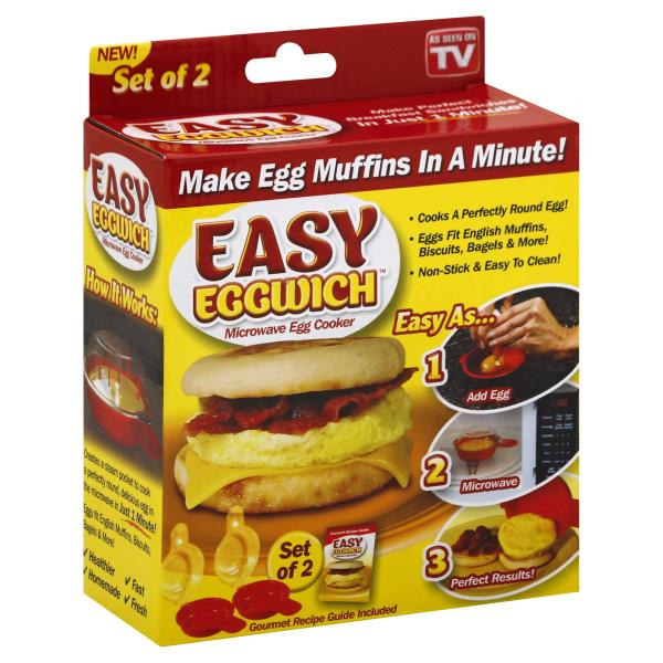 Easy Eggwich Egg Cooker, Microwave