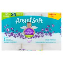 Angel Soft Bathroom Tissue, with Fresh Lavender Scent, Double Rolls, 2-Ply