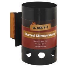 Mr Bar B Q Premium Chimney Starter, Charcoal