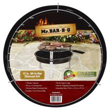 Mr Bar B Q Charcoal Grill, All-in-One, 12 Inch