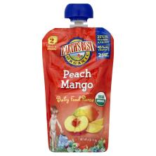 Earths Best Organic Baby Food Puree, Peach Mango, 2 (Over 6 Months)
