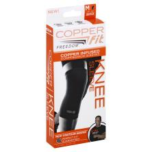 Copper Fit Freedom Knee Sleeve, Copper Infused, M, Unisex