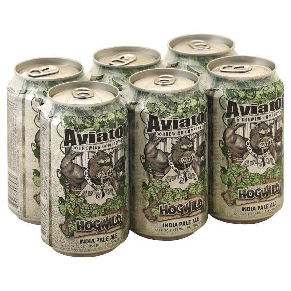 Aviator Beer, India Pale Ale, HogWild : Publix com