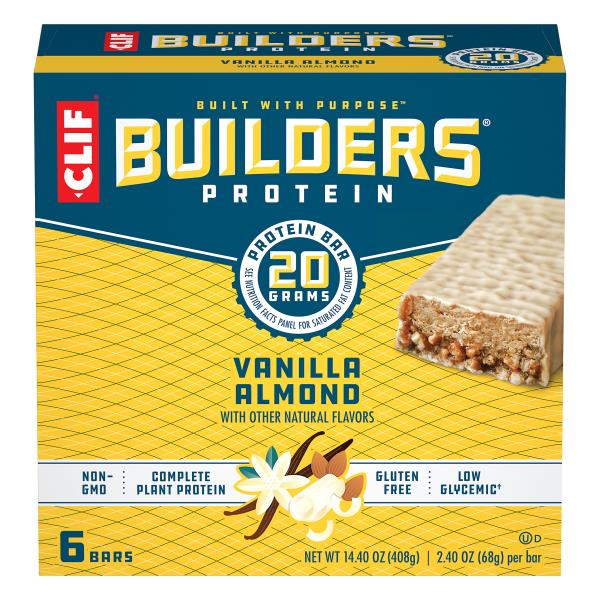 Clif builder bar before or after workout