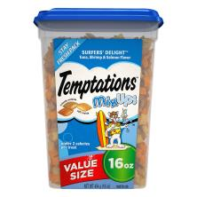 Temptations MixUps Treats for Cats, Surfers' Delight, Stay Fresh Pack, Value Size