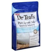 Dr Teals Soaking Solution, Pure Epsom Salt, Detoxify & Energize