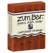 Zum Bar Soap, Goat's Milk, Patchouli-Orange