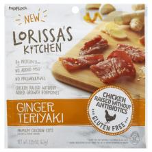 Lorissas Kitchen Chicken Cuts, Premium, Seasoned & Smoked, Ginger Teriyaki