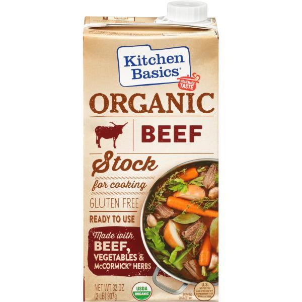 kitchen basics stock organic beef - Kitchen Basics