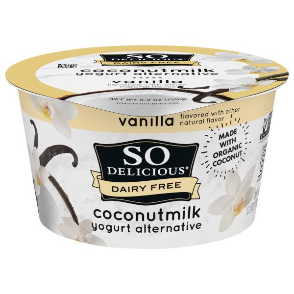 So Delicious Yogurt Alternative, Coconutmilk, Vanilla