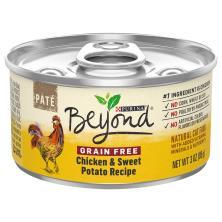 Beyond Cat Food, Grain Free, Chicken & Sweet Potato Recipe