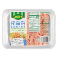 Jennie O Turkey Breast, Extra Lean, Ground, 99%/1%