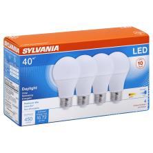 Sylvania Light Bulbs, LED, Daylight, 6 Watts