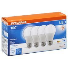 Sylvania Light Bulbs, LED, Daylight, 14 Watts