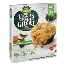 Garden Lites Superfood Veggie Cakes, Super Blend