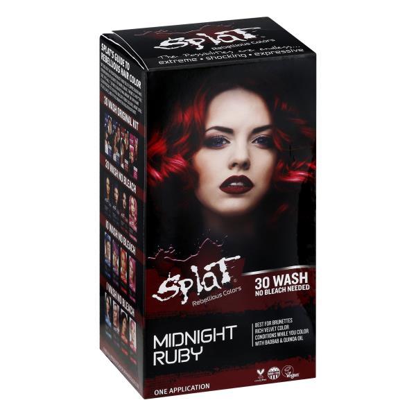 Splat Hair Color Midnight Ruby Publix Com