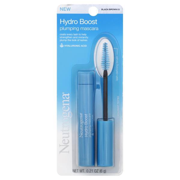 82d337214b8 Neutrogena Hydro Boost Plumping Mascara, Hydro Boost, Waterproof,  Black/Brown 03
