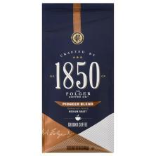 Folgers 1850 Coffee, Ground, Medium Roast, Pioneer Blend