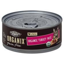 Organix Food for Cats, Grain Free, Organic, Turkey, Pate