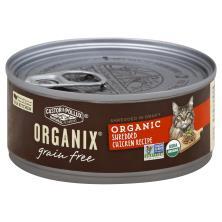 Organix Cat Food, Grain Free, Organic, Shredded Chicken Recipe