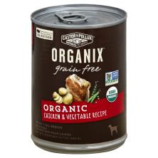 Organix Dog Food, Grain Free, Organic, Chicken & Vegetable Recipe