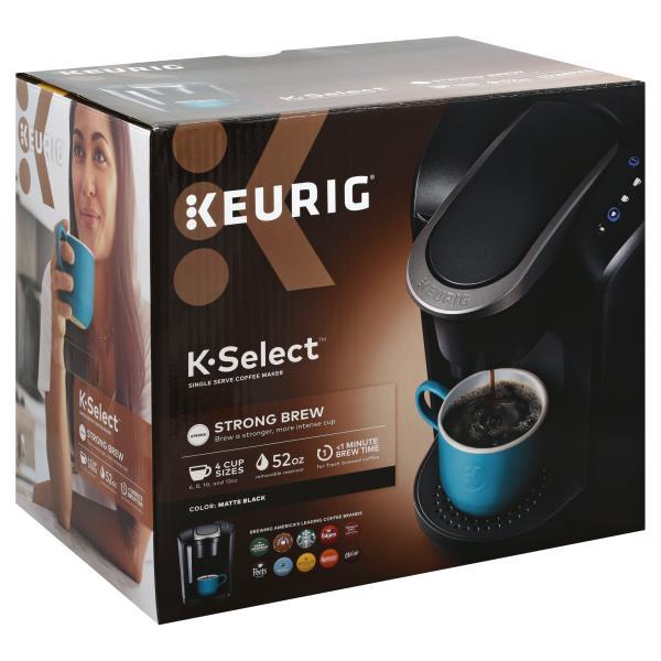 Keurig K Select Coffee Maker Single Serve Matte Black Publixcom