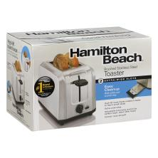 Hamilton Beach 2 Slice Ss Toaster, Silver