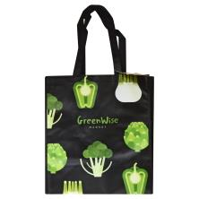 Publix GreenWise Black Broccoli & Peppers Laminate Bag
