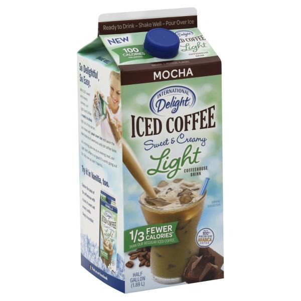 International Delight Iced Coffee, Sweet & Creamy Light